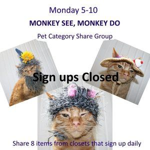 Monday 5-10 Pet Category Share Group